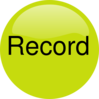 Record Audio Upressed Clip Art