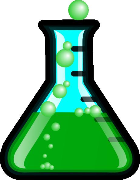 Greenflask/bubbles Clip Art at Clker.com - vector clip art ...