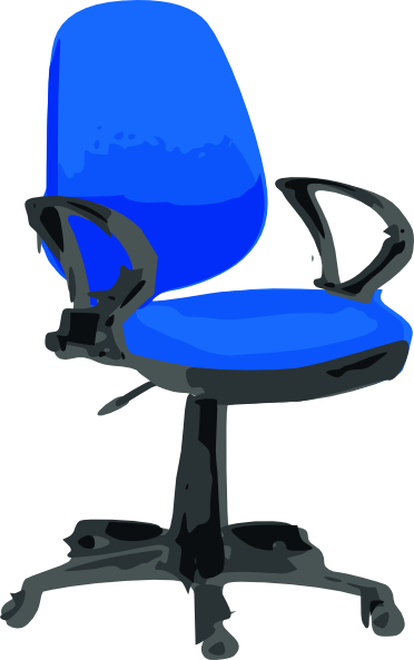 Cartoon Office Chair Chair clip art - vector clip