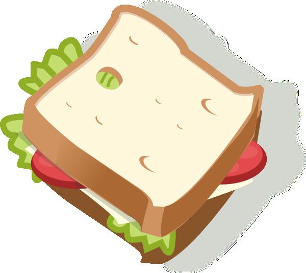 Vegetarian Sandwich Clip Art at Clker.com - vector clip art online ...
