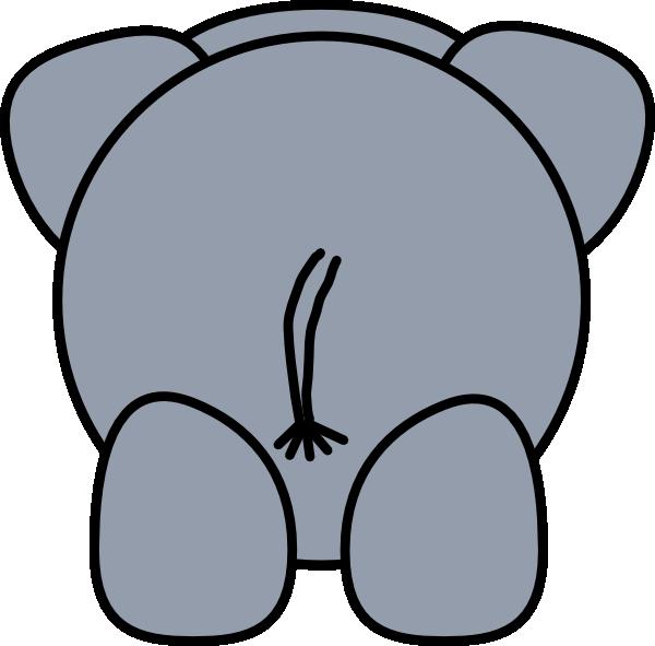 clipart elephant outline - photo #14