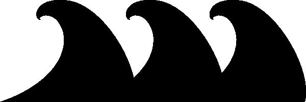 Black Wave Clip Art at Clker.com - vector clip art online ...