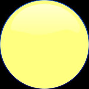 yellow circle icon clip art at clker com vector clip art online rh clker com White Circle Clip Art Black Circle Clip Art