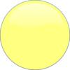 Yellow Circle Icon Clip Art