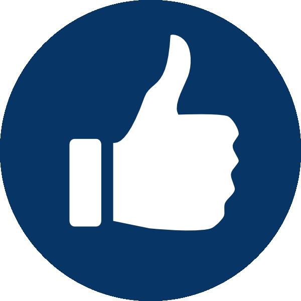 Dark Thumbs Up! Clip Art at Clker.com - vector clip art ...