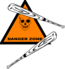 Dangerzonesoftball Clip Art