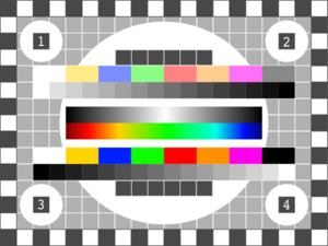 Tv Color Test Clip Art