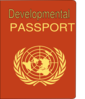 Developmental Passport Clip Art