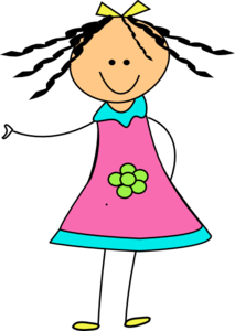 Cute Doll Clip Art