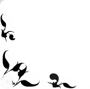 Floral Design Corner E Clip Art At Clker Com Vector Clip