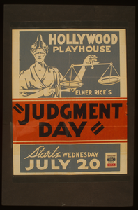 Elmer Rice S  Judgement Day  Image