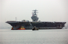 Uss Carl Vinson (cvn 70) And More Than 6,400 Sailors Assigned To The Super Carrier, Arrive At Naval Air Station North Island, Calif. Image