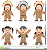 Pilgrims And Native Americans Clipart Image