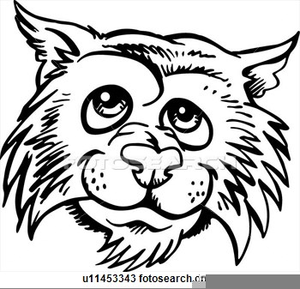 Wildcat Mascot And Clipart Free Images At Clker Com Vector Clip