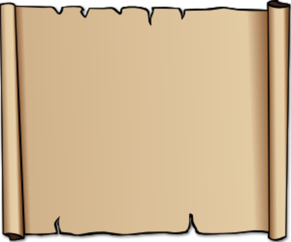 Leather Scroll image