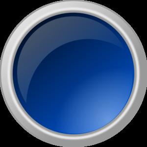 Glossy Blue Button Clip Art at Clker.com - vector clip art online ...