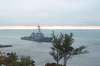 Uss Mitscher Arrives In Ft. Lauderdale Image