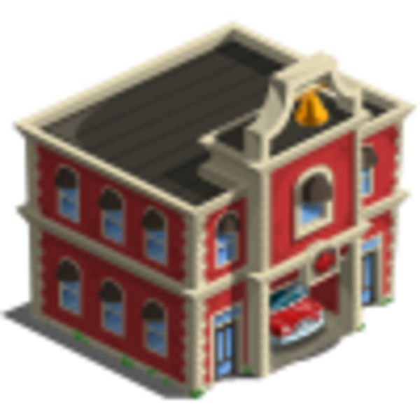 clip art of fire station - photo #40