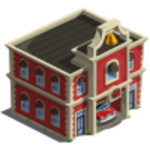 Fire Station Icon Image
