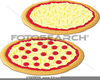 Cheese Pizza Clipart Image
