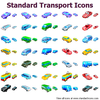 Standard Transport Icons Image