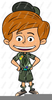 Girl Scouts America Clipart Image