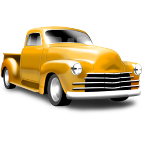 Classic Truck 256 | Free Images at Clker.com - vector clip ...