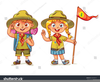 Girl Scouts Clipart Image