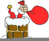 Father Christmas Rudolph Clipart Image