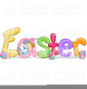 Easter Holiday Clipart Image
