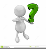 Green Question Mark Clipart Image