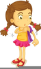 Young Women Clipart Image