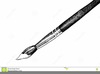 Black And White Paintbrush Clipart Image