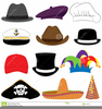 Pirate Hats Clipart Image