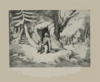 Washington At Valley Forge  / Lith Of F. Heppenheimer, 22 N. William St., Ny. Clip Art