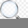 Clipart Of Magnifying Lens Image