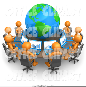 Clipart People Meeting Image