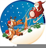 Christmas Rudolph Clipart Image