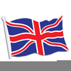 England Flag Clipart Image