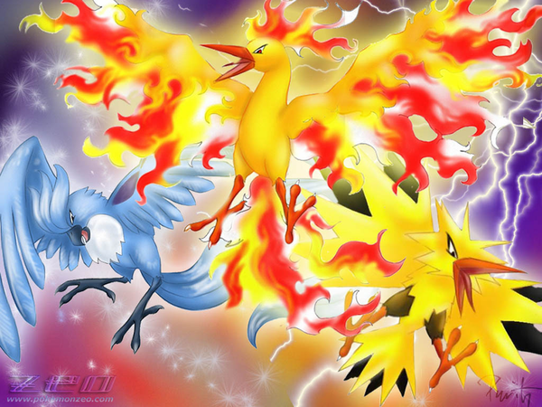 Legendary Birds Legendary Pokemon | Free Images at Clker ...