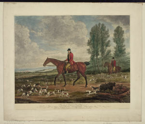 Richard Davis, Huntsman To His Majesty S Harriers, 1789-1812 Image