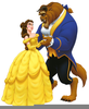 Beauty And The Beast Broadway Clipart Image