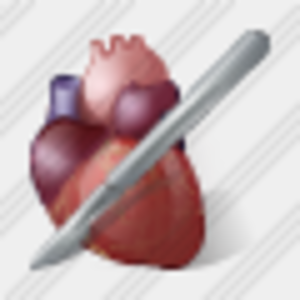 Icon Heart And Scalpel 1 Image