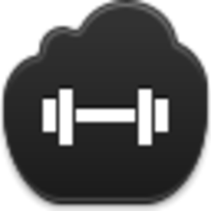Barbell Icon Image