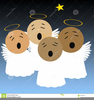 Free Clipart Of Singing Angels Image