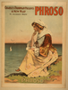 Charles Frohman Presents A New Play, Phroso By Anthony Hope. Image
