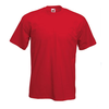 Plain Blank T Shirts Red Image
