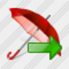 Icon Umbrella Export Image