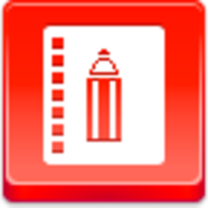 Free Red Button Icons Book Of Record Image
