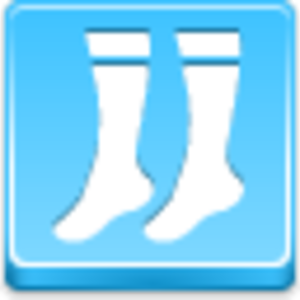 Free Blue Button Icons Socks Image
